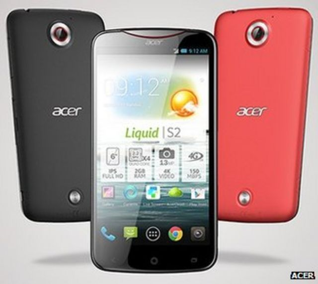LG's G Pad and Acer's Liquid S2 phone revealed before Ifa