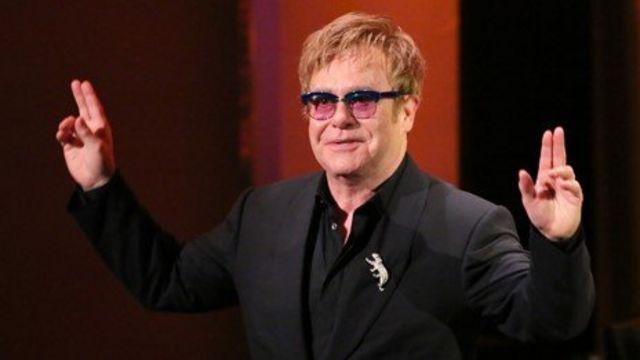 Sir Elton John wins first Brits Icon award