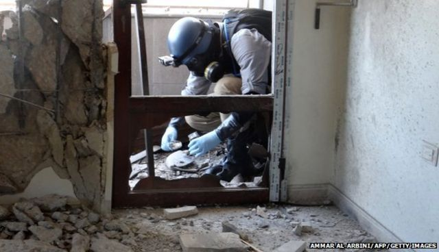 Labs to start Syria chemical weapons analysis