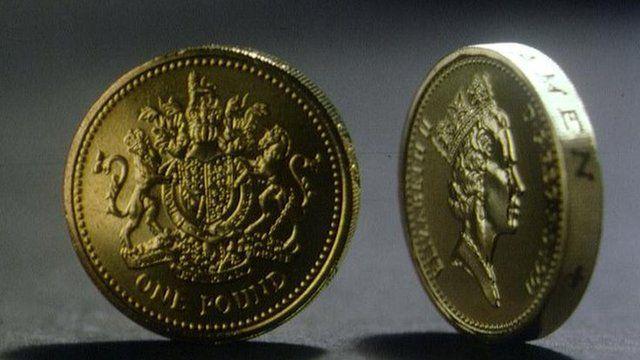 Pound coins