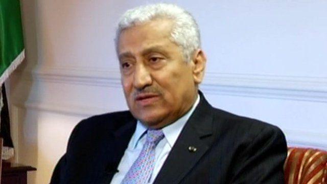 Jordan's Prime Minister Abdullah Ensour