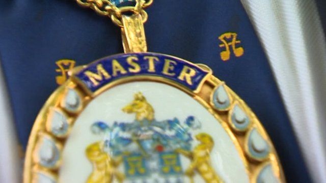 Master of Water Conservators badge of office