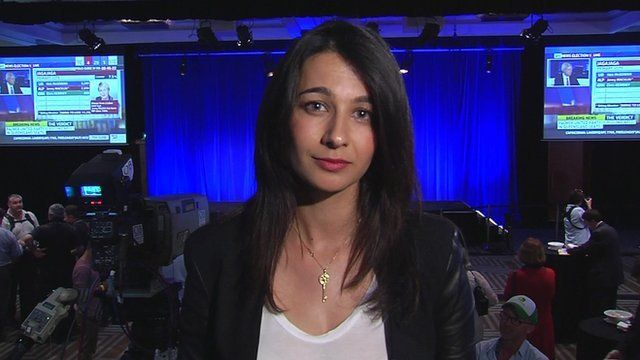 BBC reporter Yalda Hakim reports from Sydney in the Liberal Party room