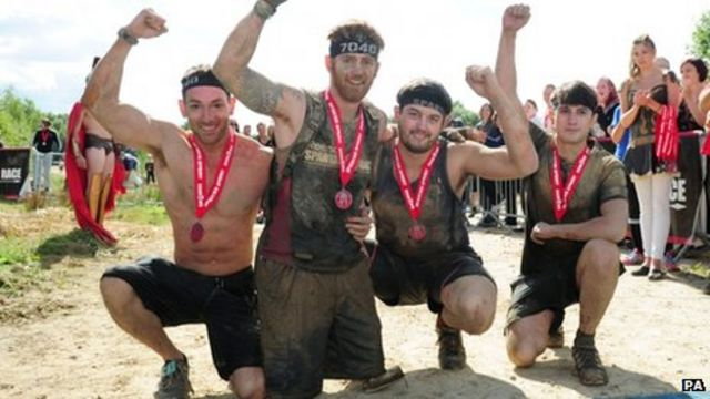Double amputee James Simpson completes 'tough' Spartan Race