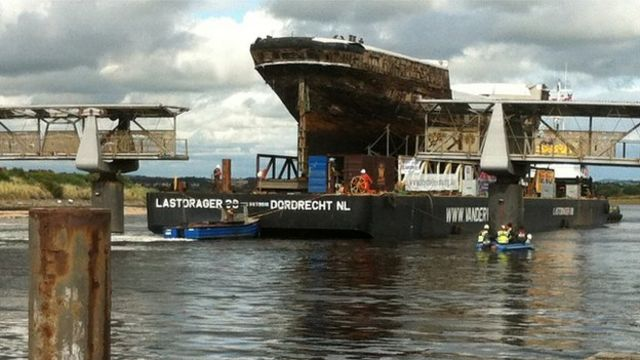 Historic clipper City of Adelaide 'floats again' for first time since 1991