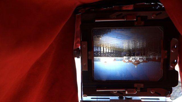 Inside a 5x4 camera