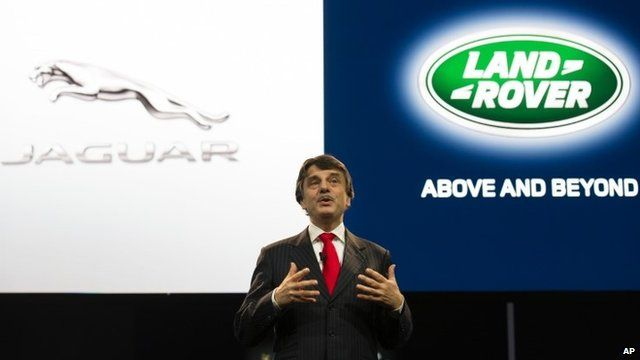 Dr. Ralf Dieter Speth, CEO of Jaguar Land Rover