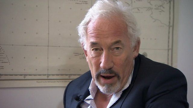 Simon Callow at Bletchley Park