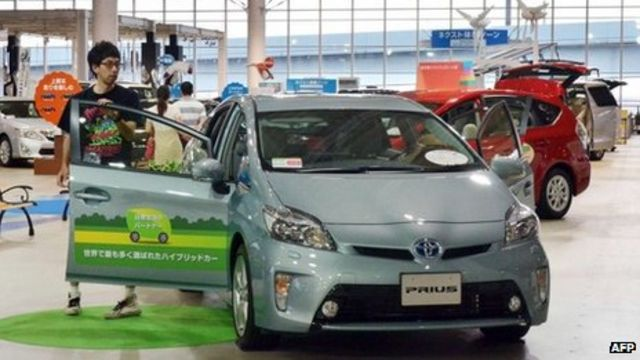 Toyota: Investment in 'green' paying dividends