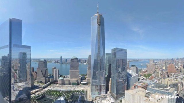 Time lapse of One World Trade Center construction