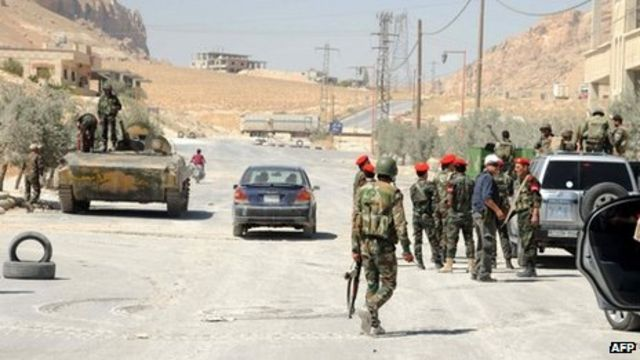 Battle for Syria Christian town of Maaloula continues