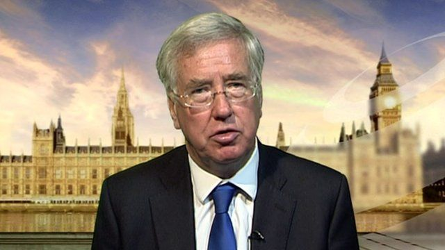 Business minister Michael Fallon
