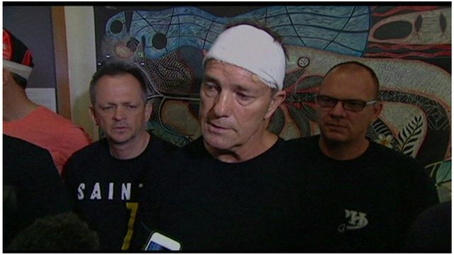 Attack victims recount traumatic experience