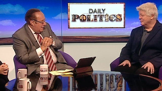 Andrew Neil and Alan Sked