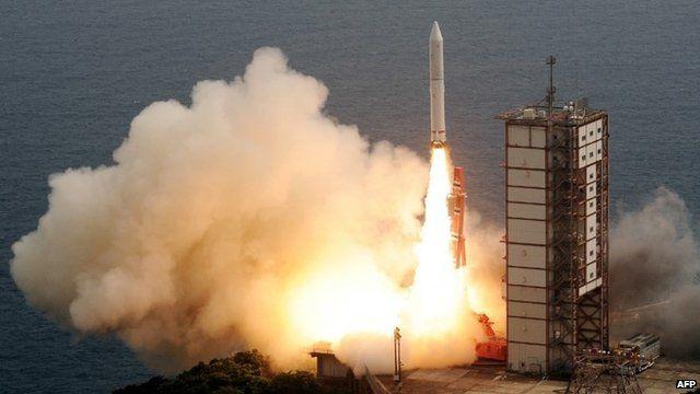 Epsilon rocket launches