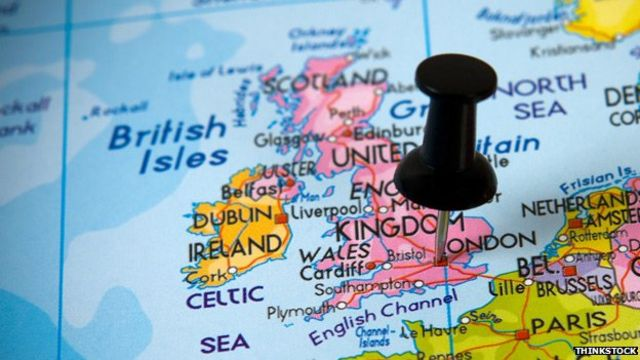 Is Great Britain really a 'small island'?