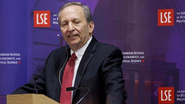 Larry Summers in March 2013