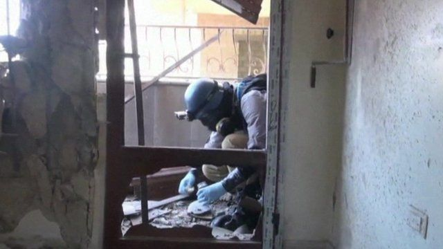 Syria chemical weapons investigator