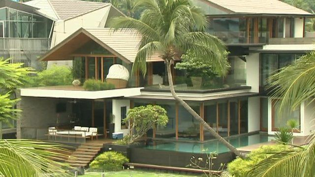 Sensational Asia Set To House Most Of The Worlds Super Rich Bbc News Largest Home Design Picture Inspirations Pitcheantrous