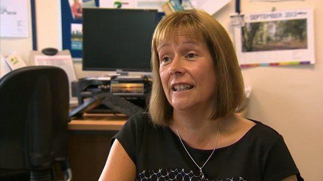 RNIB Cymru director Ceri Jackson