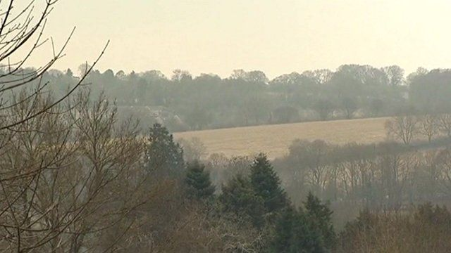 Countryside where HS2 will run