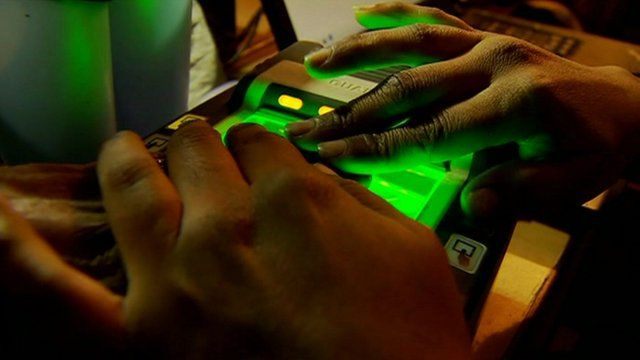The project involves collecting biometric data from a billion people