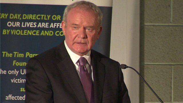 Northern Ireland Deputy First Minister Martin McGuinness
