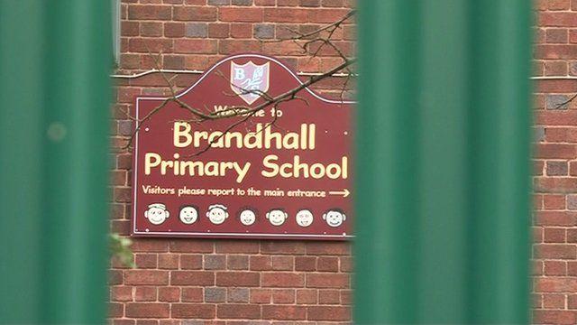 Primary school fence