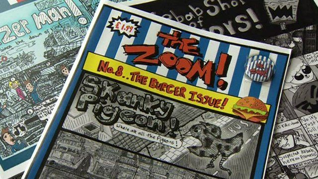 Comic by Zoom Rockman
