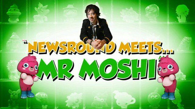 Newsround meets Mr Moshi