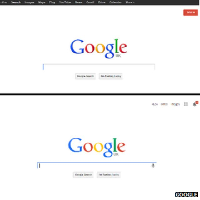 Google revamps logo and search page