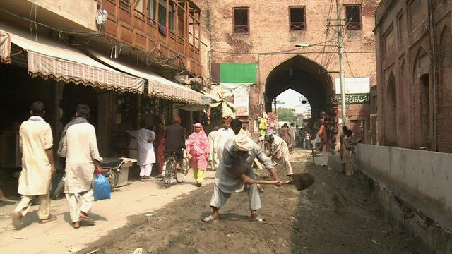 The Walled City of Lahore