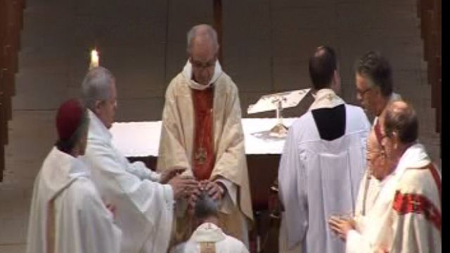 Richard Pain, the former Archdeacon of Monmouth, was consecrated on his 57th birthday at Llandaff Cathedral.