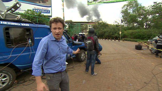 Gabriel Gatehouse in Nairobi