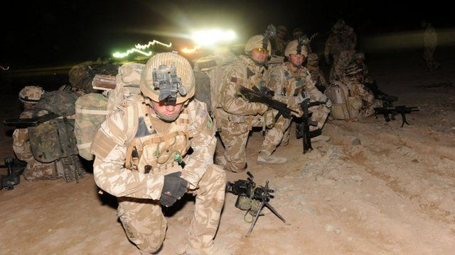 Members of the 1st Battalion The Royal Welsh in Afghanistan