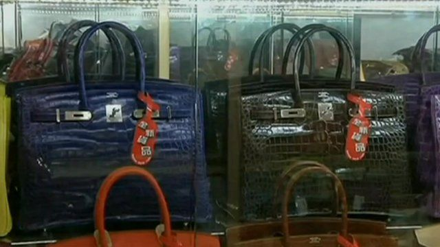 3a8205a72cc1 Hong Kong's pawn shop accepts handbags as collateral - BBC News