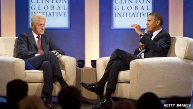 Obama and Clinton promote 'Obamacare'