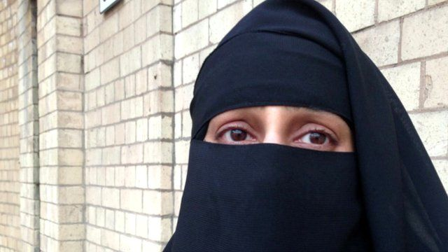Anisha Patel spoke to the BBC about wearing a niqab