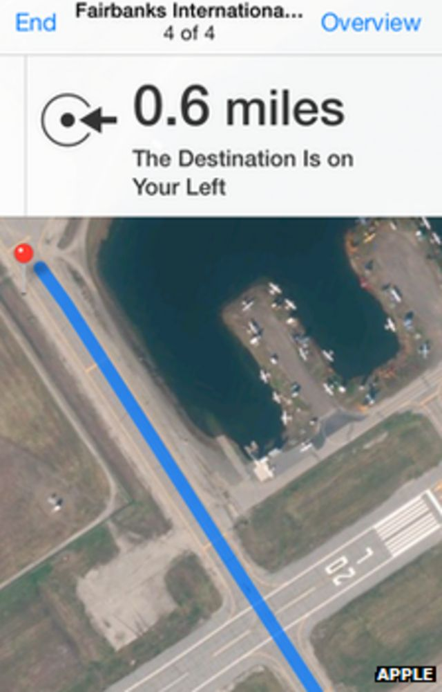 Apple Maps flaw results in drivers crossing airport runway