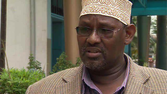 Adan Wachu, head of the Supreme Council of Kenyan Muslims