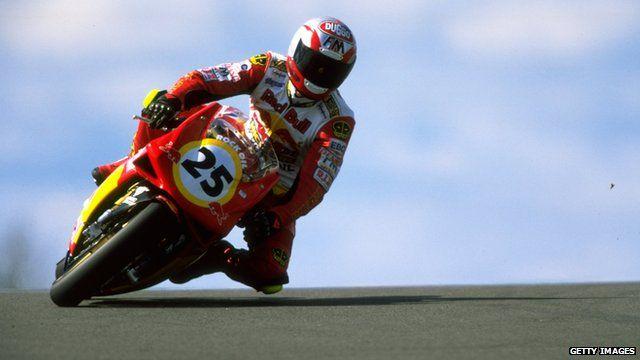 Former superbike racer Sean Emmett