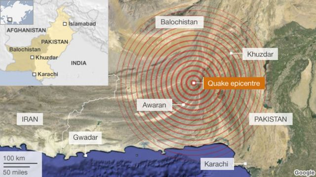 Pakistan earthquake: Hundreds dead in Balochistan