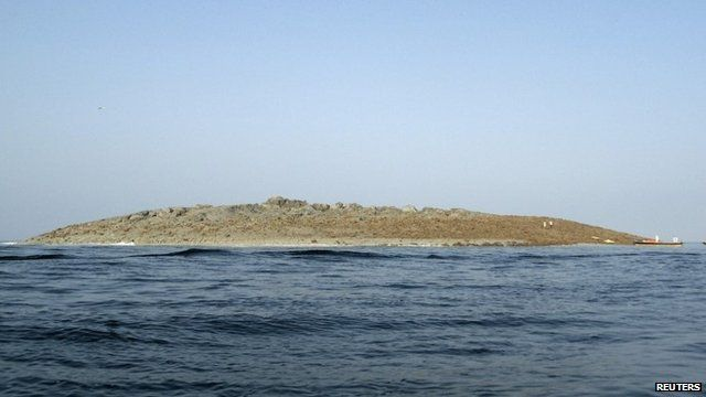 Island off Pakistan's coast
