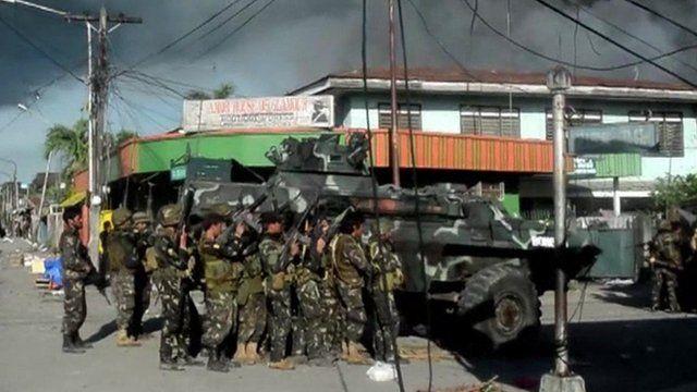 Zamboanga fighting, 25 September 2013