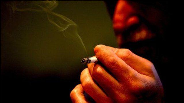 Man smoking (generic)