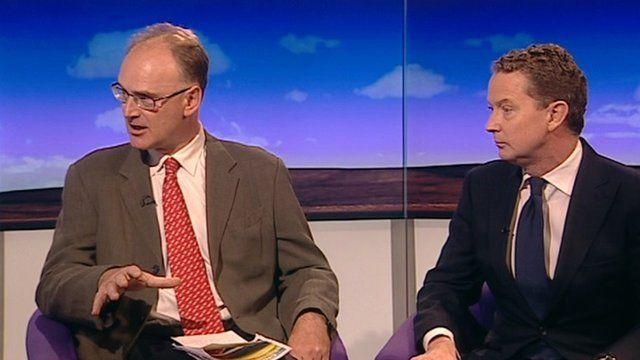 Matt Ridley and Greg Barker