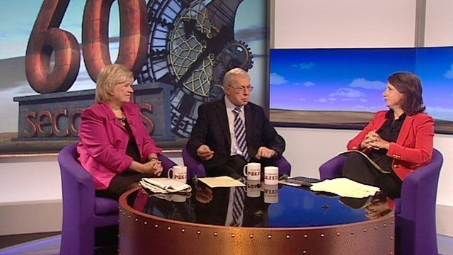 Polly Toynbee, Michael Brown and Jo Coburn