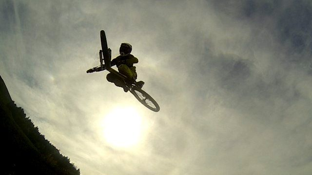 Mountain biking in Powys