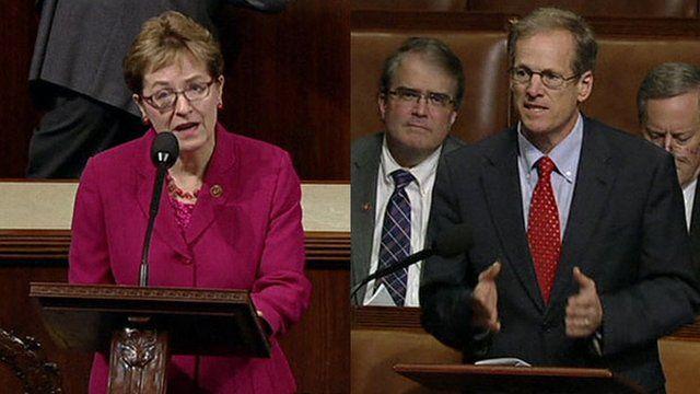 Democrat Marcy Kaptur and Republican Jack Kingston