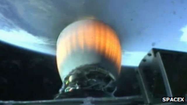 Updated SpaceX Falcon rocket blasts off